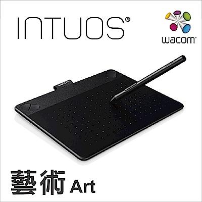 (福利品) Wacom Intuos Art 藝術創意觸控繪圖板-經典黑(小)