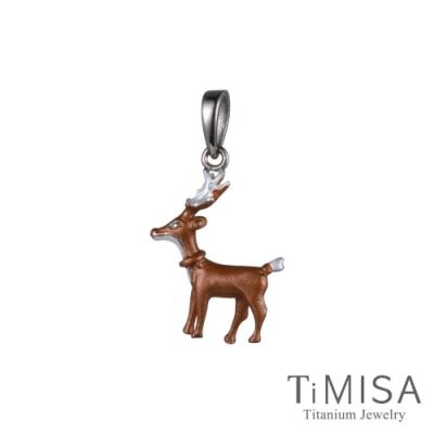 TiMISA  小鹿班比 純鈦墜飾