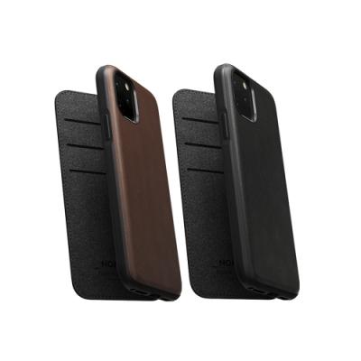 美國NOMAD經典皮革側掀保護套- iPhone 11 Pro Max