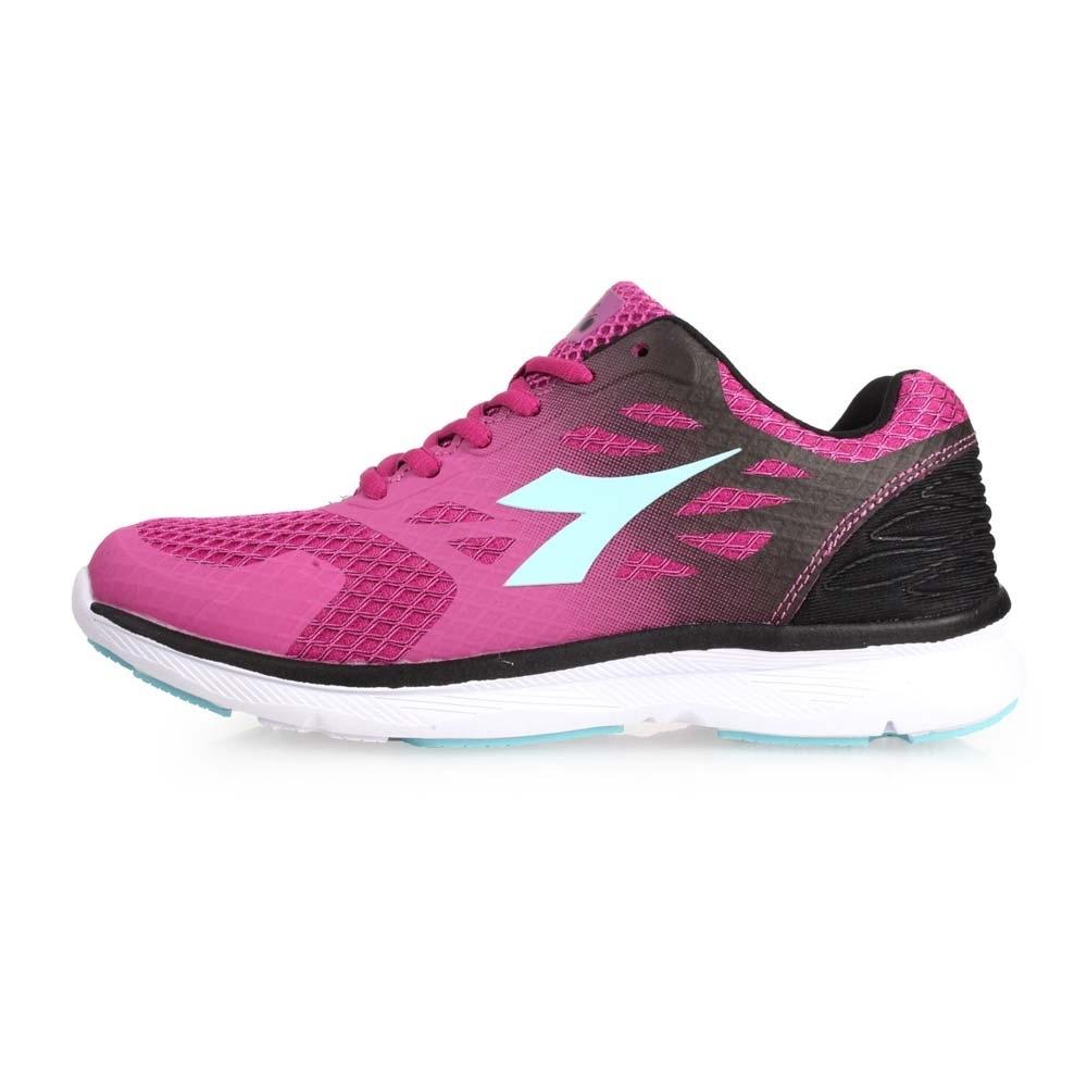 DIADORA 女慢跑鞋-路跑 紫黑水藍