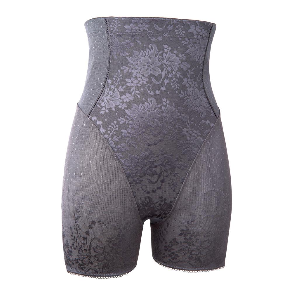 黛安芬-美型美體衣系列高腰束褲 M-EEL(柔霧灰)