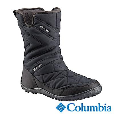 Columbia哥倫比亞 女款- 防水鋁點保暖雪靴-黑色 UBL59590