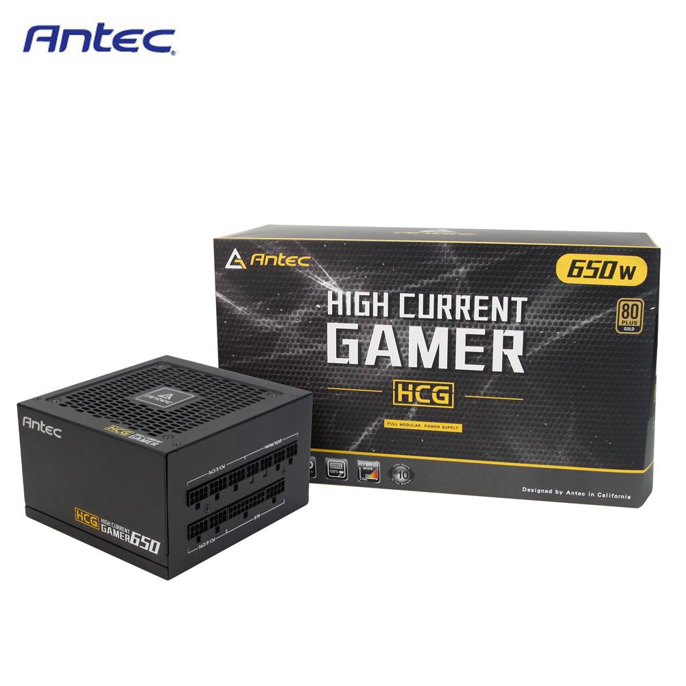 Antec 安鈦克 HCG650 650W Gold80+ 金牌 全模組化 電源供應器