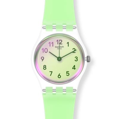 Swatch 菁華系列手錶 CASUAL GREEN 自在嫩綠-25mm
