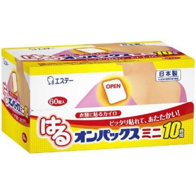 日本【雞仔牌】長效10小時迷你款暖暖貼 60貼入