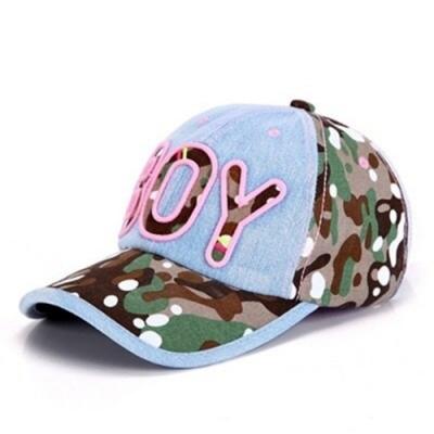 米蘭精品 牛仔帽防曬棒球帽-英文字母BOY迷彩情人節生日禮物女帽子73da11