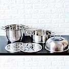 Maluta瑪露塔 304不鏽鋼三層30公分多用蒸霸鍋