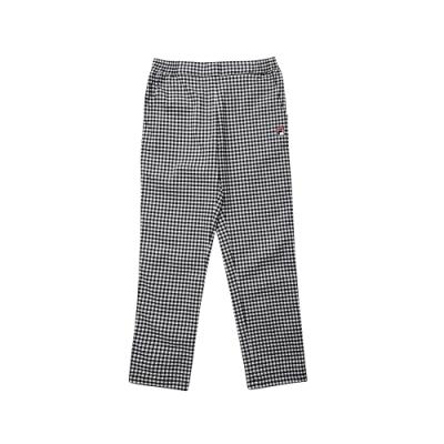 FILA KIDS 童平織長褲-黑 1PNT-8431-BK