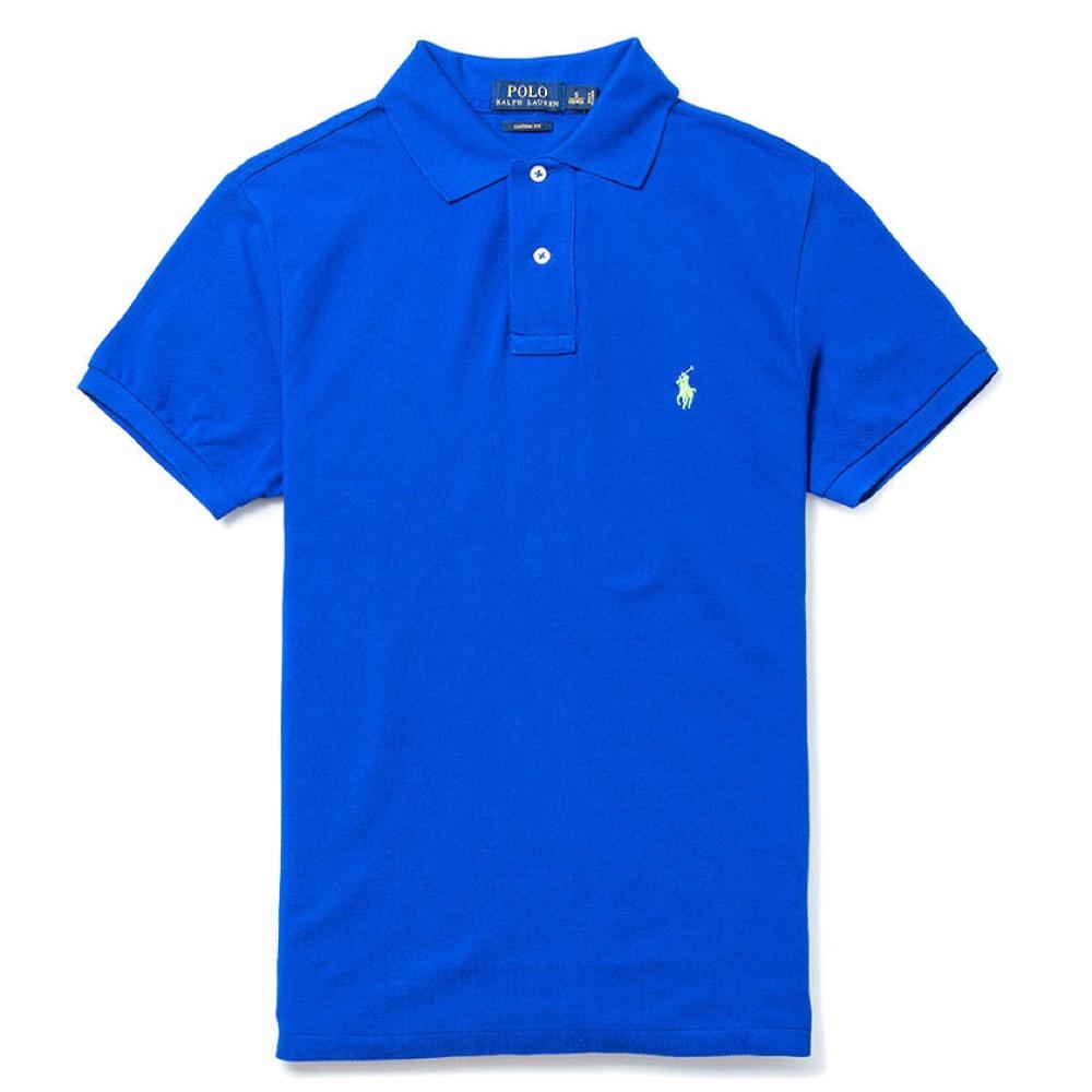 Polo Rlaph Lauren 經典電繡小馬Polo衫(Custom)-皇家藍