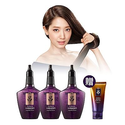呂Ryo 強化髮根頭皮深層清潔液3件組