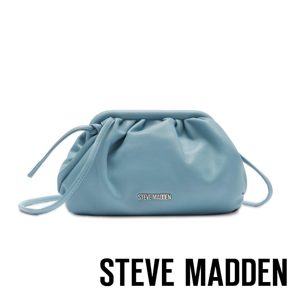 STEVE MADDEN-BNIKKI 軟綿雲朵側背包-BABY藍