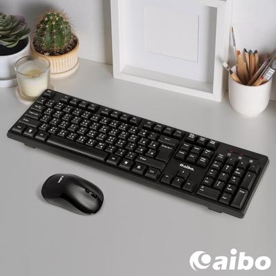 (時時樂)aibo KM13 2.4G 無線鍵盤滑鼠組