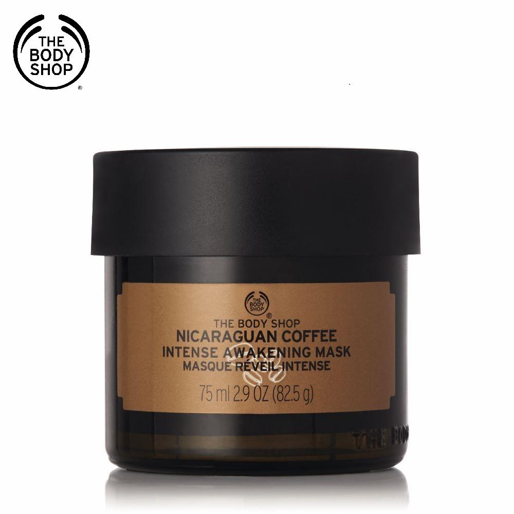 The Body Shop 尼加拉瓜咖啡醒膚煥顏面膜-75ML