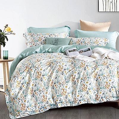 Ania Casa 克莉絲 天絲 100% TENCEL 特大鋪棉兩用被套床包四件組