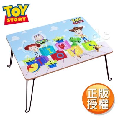 【迪士尼Disney】台灣製 玩具總動員 摺疊桌 方桌 和室桌 兒童桌60x48x30cm