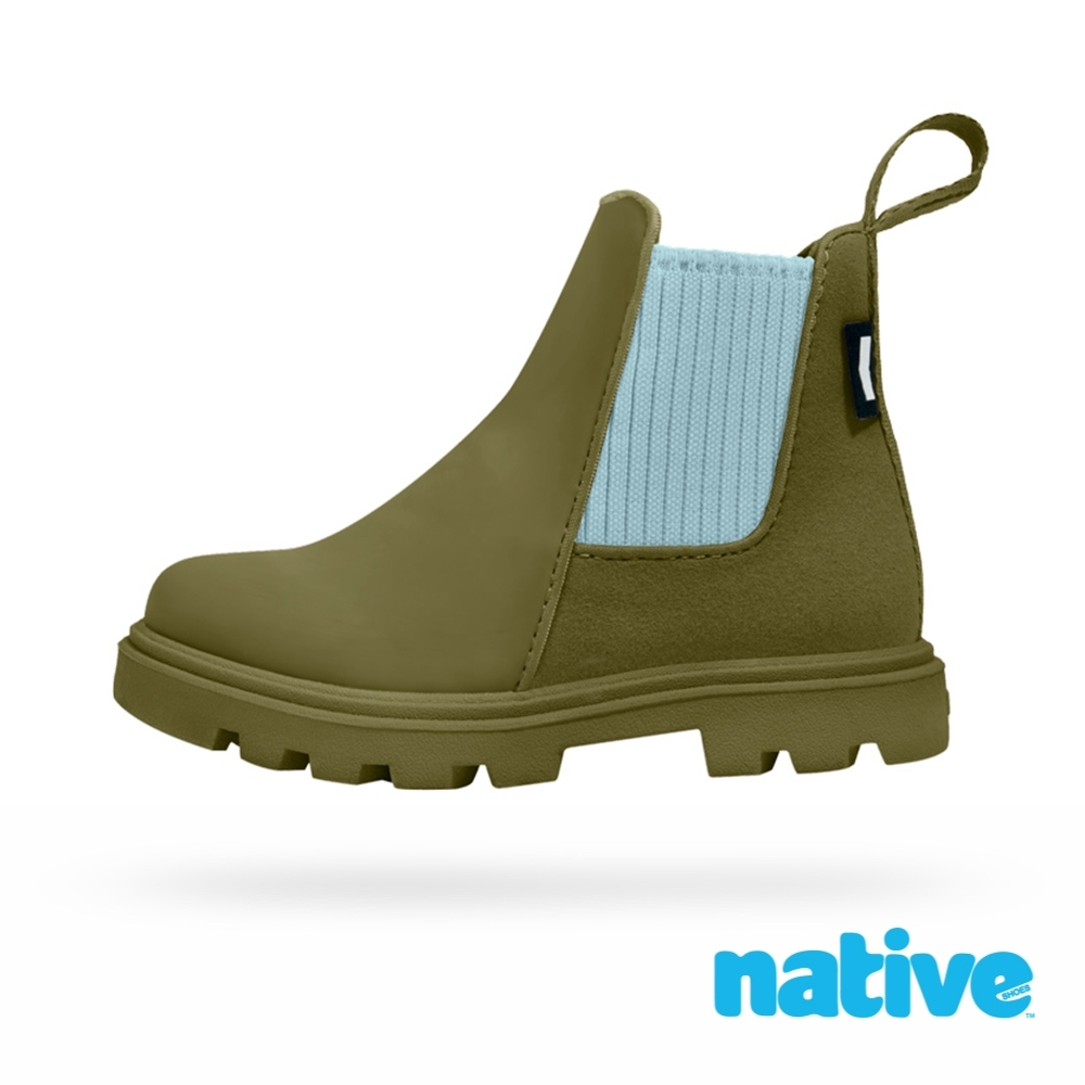 native 小童鞋 KENSINGTON 小肯辛頓短靴-率性綠