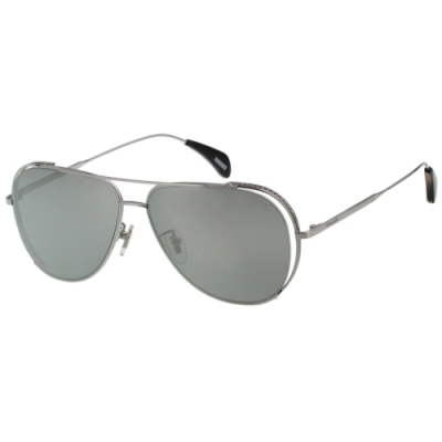 POLICE 水銀灰 太陽眼鏡 (銀色)SPL668K