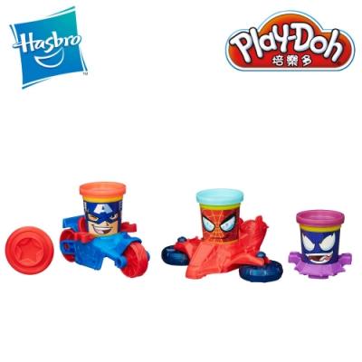 Play-Doh 培樂多-Marvel漫威英雄交通工具遊戲組 黏土 創意DIY