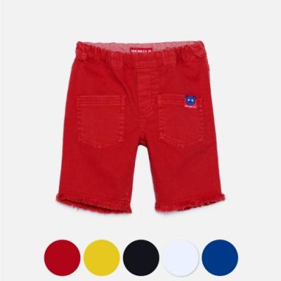 WHY AND 1/2 彈性棉質斜紋套染五分褲 多色可選 11Y ~ 14Y以上