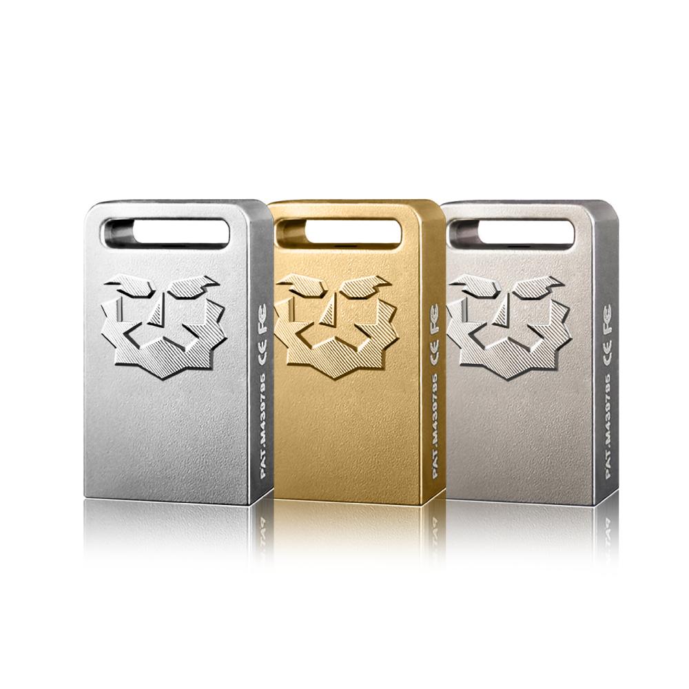 達墨 ZH Plus USB3.0 128GB 鋅合金精工隨身碟