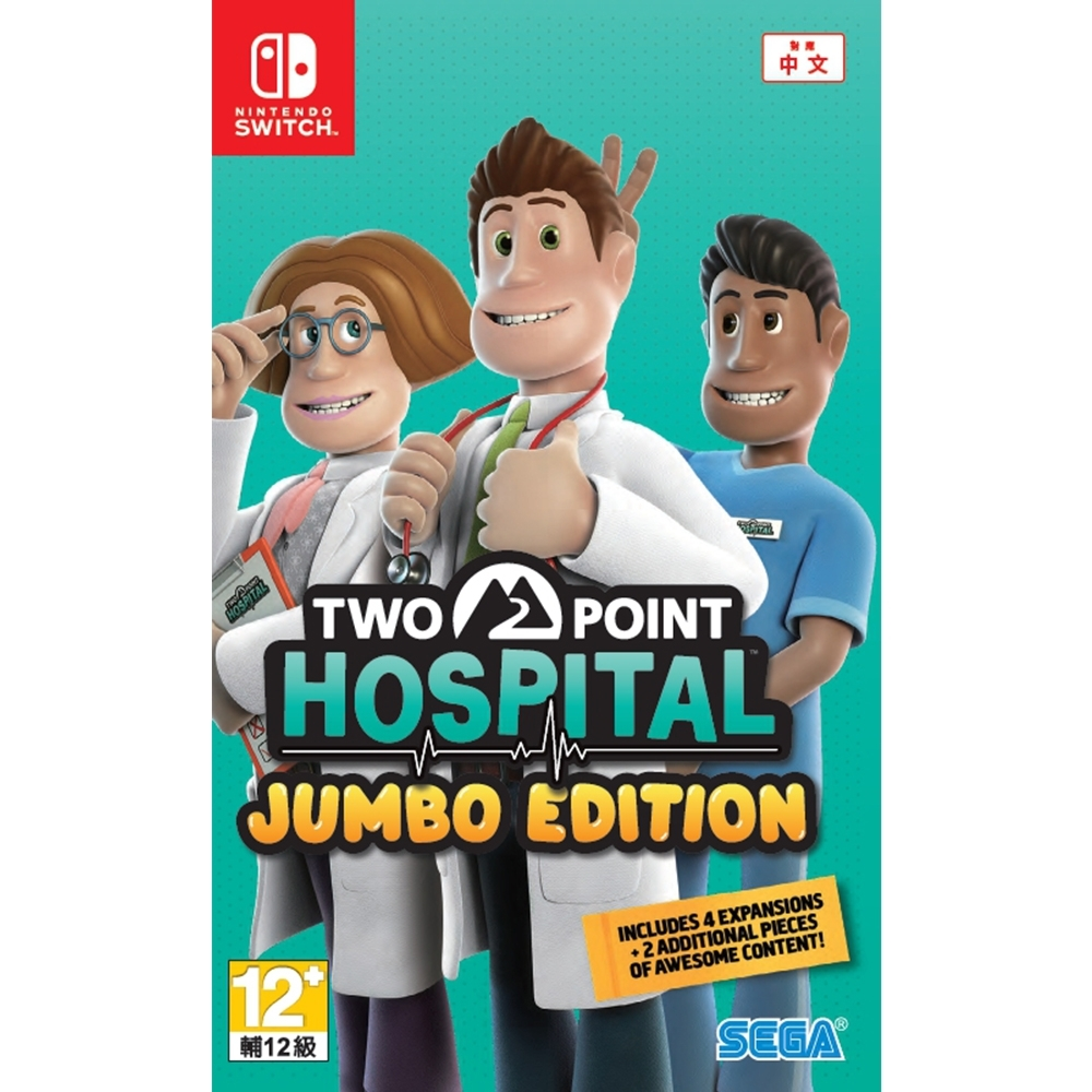 NS 雙點醫院 Two Point Hospital: Jumbo Edition(中文版)