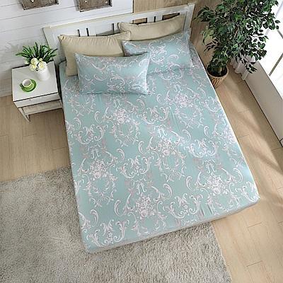 岱思夢 單人100%天絲床包枕套二件組 溫特