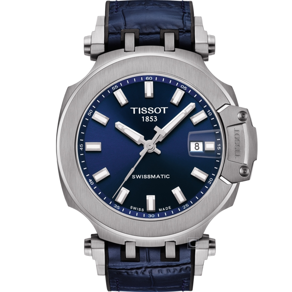 TISSOT T-RACE 競速時尚機械錶(T1154071704100)48.8mm
