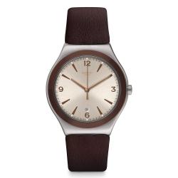 Swatch 金屬系列手錶 O CHOCO -42.7mm
