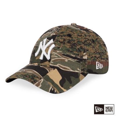 NEW ERA 9TWENTY 920 CAMO PATCHWORK 洋基 迷彩綠 棒球帽