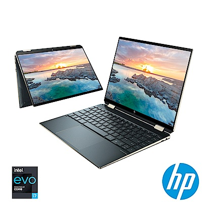 HP 皇爵翻轉14 Spectre x360 14-ea0052TU 14吋輕薄翻轉觸控筆電(i7-1165 G7/16G/1TB SSD/Win10)