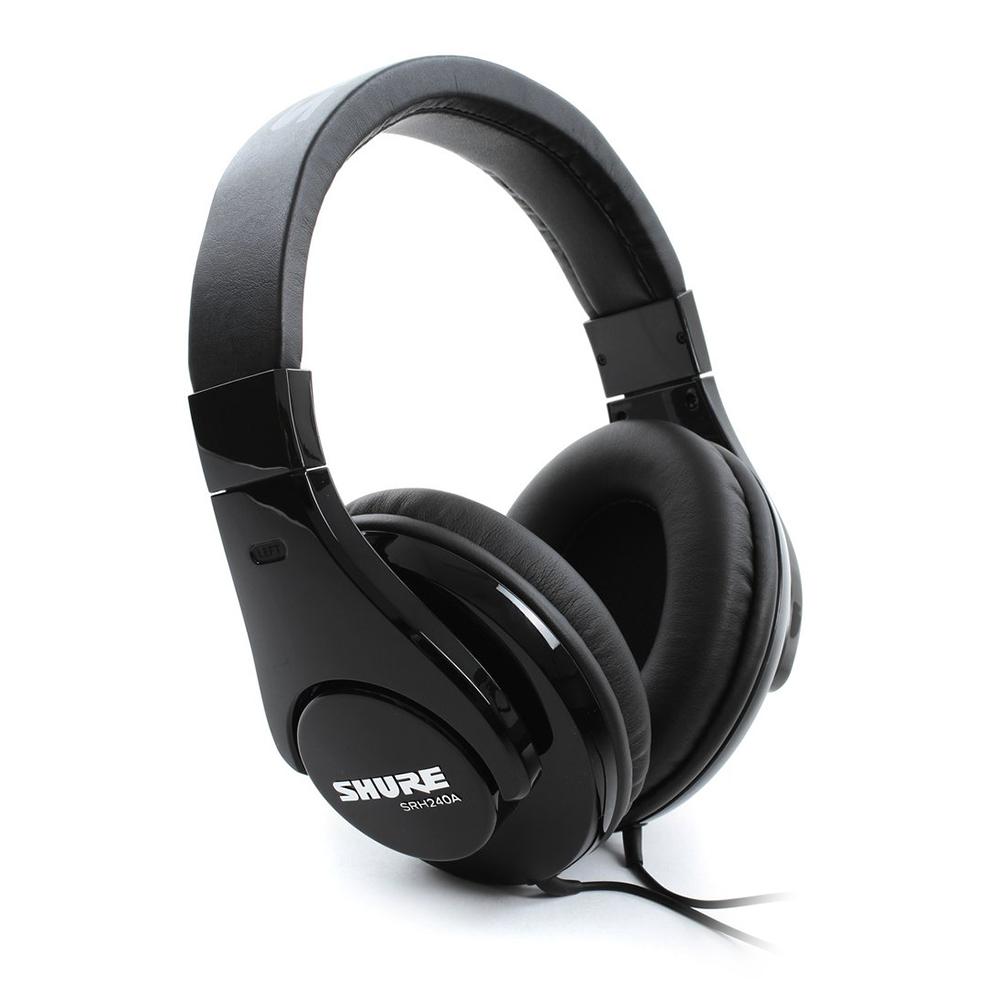 SHURE SRH240A 專業頭戴式耳機