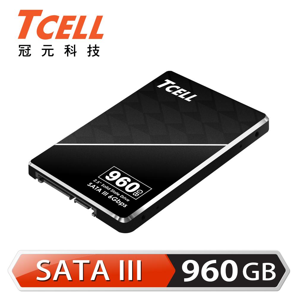 TCELL 冠元- TT550 960GB 2.5吋 SATAIII SSD固態硬碟