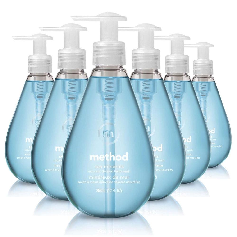 箱購-Method 美則 海藍礦物洗手乳354ml x 6