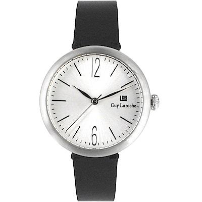 姬龍雪Guy Laroche Timepieces現代簡約時尚女錶(LW5054A-10)