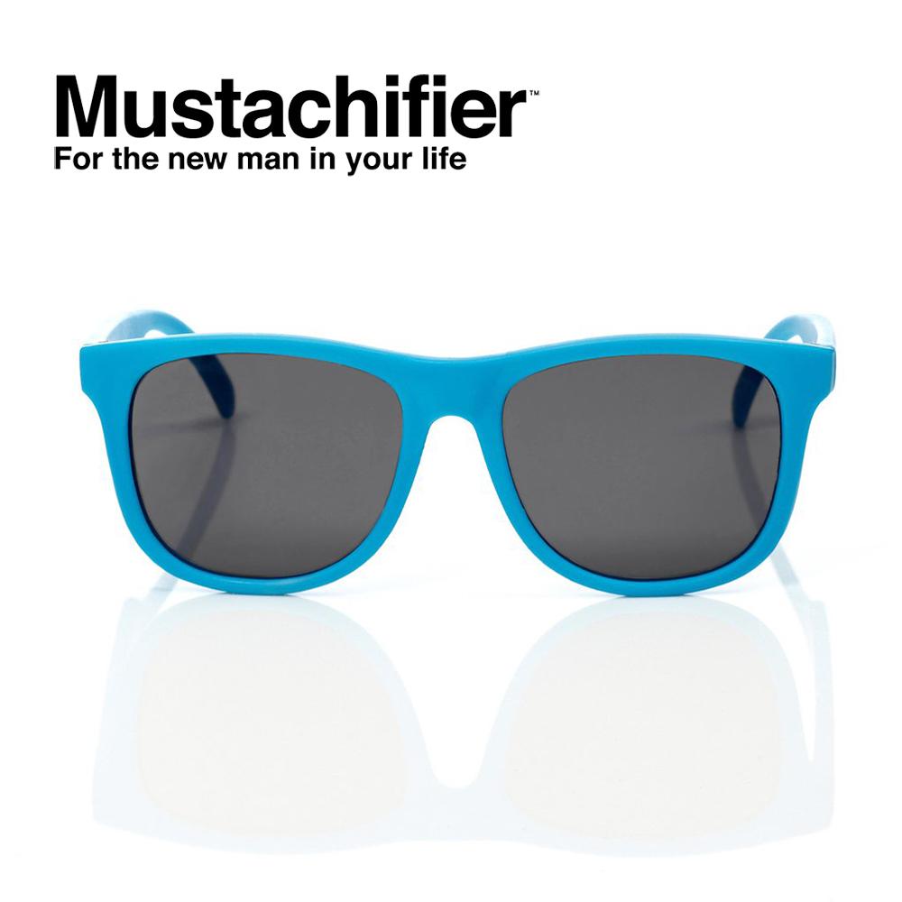 Hipsterkid 美國 抗UV時尚嬰童偏光太陽眼鏡 - 夏日藍款 (0-2歲)