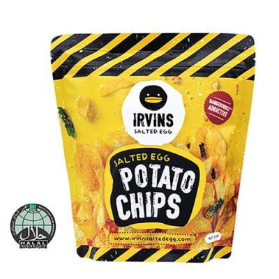 【IRVINS黑鴨】鹹蛋黃洋芋片(105公克)