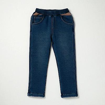 PIPPY 保暖內刷毛牛仔褲 藍