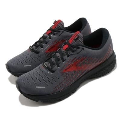 Brooks 慢跑鞋 Ghost 13 GTX 運動 男鞋 路跑 緩震 DNA科技 健身 球鞋 黑 紅 1103421D075