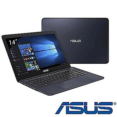 ASUS L402 14吋四核筆電(E2-6110/240G+32G/Win10P(S)特