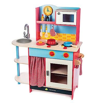 Tender Leaf Toys木製家家酒玩具-食味双馨私廚廚房玩具
