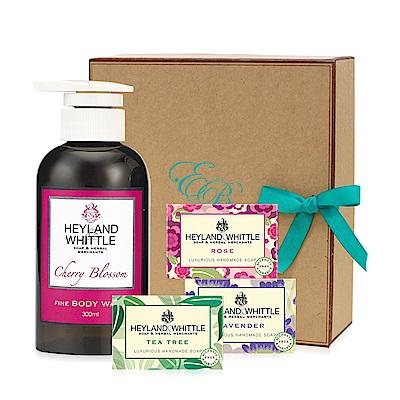 H&W英倫薇朵 櫻花香氛沐浴皂禮盒