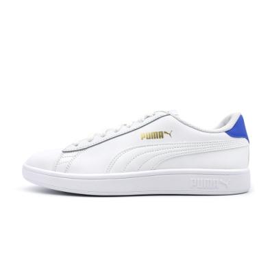 Puma Smash v2 L-男女 休閒鞋-白藍-36521518