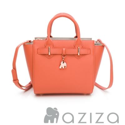 aziza CLORIS2way蝙蝠包-珊瑚紅