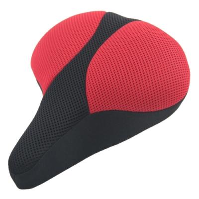 DR. AIR 電動自行車用新型態輕量機能坐墊-紅色