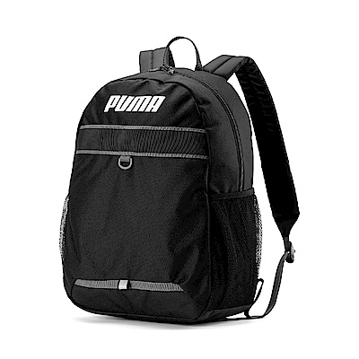 PUMA-男女Puma Plus後背包-黑色
