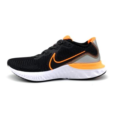 NIKE RENEW RUN 男慢跑鞋-黑橘-CK6357001