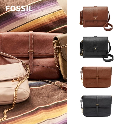 【FOSSIL】新品★Kinley & Edelyn 真皮斜背包 (多款任選)