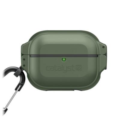 CATALYST AirPods Pro 耐衝擊防水硬式保護殼 ●軍綠