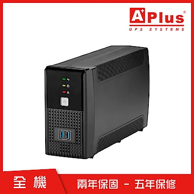 特優Aplus 在線互動式UPS Plus1E-US600N(600VA/360W)