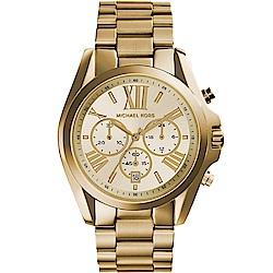 Michael Kors 漫步羅馬三眼計時腕錶(MK5605)43mm